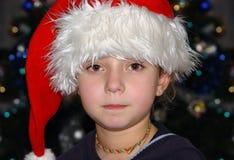 Κορίτσι Χριστουγέννων Στοκ Εικόνες