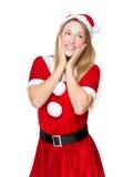 Κορίτσι Χριστουγέννων Στοκ φωτογραφία με δικαίωμα ελεύθερης χρήσης