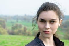 Κορίτσι χωρίς μια σύνθεση με το καλό δέρμα Στοκ φωτογραφίες με δικαίωμα ελεύθερης χρήσης