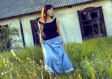 κορίτσι χωρών Στοκ φωτογραφία με δικαίωμα ελεύθερης χρήσης
