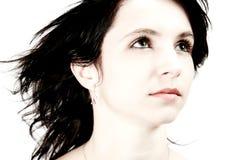 κορίτσι 03 που ανατρέχει Στοκ εικόνα με δικαίωμα ελεύθερης χρήσης