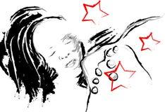 κορίτσι ελεύθερη απεικόνιση δικαιώματος