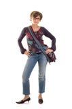 κορίτσι 2 που στέκεται yuppie Στοκ εικόνα με δικαίωμα ελεύθερης χρήσης