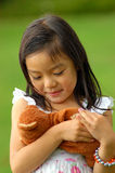 κορίτσι 2 χαρούμενο Στοκ Φωτογραφίες