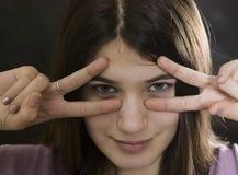 κορίτσι Στοκ Φωτογραφίες