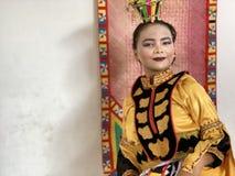 Κορίτσι Bajau, Sabah στοκ φωτογραφίες