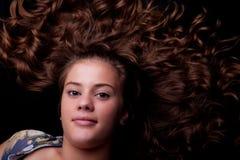 κορίτσι beautifu που φαίνεται ε&pi Στοκ φωτογραφία με δικαίωμα ελεύθερης χρήσης