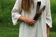 Κορίτσι Boho Στοκ Φωτογραφία