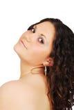 κορίτσι brunette ομορφιάς στοκ φωτογραφίες με δικαίωμα ελεύθερης χρήσης