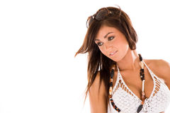 κορίτσι brunette όμορφο στοκ φωτογραφίες