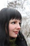 κορίτσι brunette Στοκ φωτογραφίες με δικαίωμα ελεύθερης χρήσης