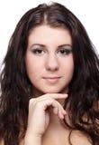 κορίτσι brunette στοκ εικόνες