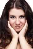 κορίτσι brunette στοκ εικόνα με δικαίωμα ελεύθερης χρήσης