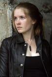 κορίτσι grunge Στοκ φωτογραφίες με δικαίωμα ελεύθερης χρήσης