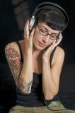 κορίτσι grunge στοκ φωτογραφία με δικαίωμα ελεύθερης χρήσης