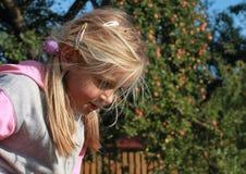 κορίτσι heary Στοκ Φωτογραφίες