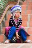 Κορίτσι Hmong Στοκ φωτογραφία με δικαίωμα ελεύθερης χρήσης