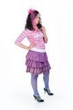 κορίτσι lollipop στοκ φωτογραφίες με δικαίωμα ελεύθερης χρήσης