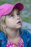 κορίτσι looking2 Στοκ Φωτογραφίες
