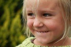 κορίτσι naughy Στοκ Εικόνες