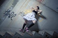 κορίτσι pinup Στοκ φωτογραφίες με δικαίωμα ελεύθερης χρήσης