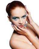 κορίτσι redhead Στοκ Φωτογραφία