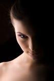 κορίτσι satan Στοκ φωτογραφία με δικαίωμα ελεύθερης χρήσης