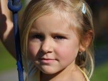 κορίτσι seriouse Στοκ φωτογραφίες με δικαίωμα ελεύθερης χρήσης