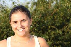 κορίτσι smiling2 Στοκ φωτογραφίες με δικαίωμα ελεύθερης χρήσης