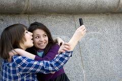 κορίτσι teens αστικό Στοκ Φωτογραφία