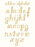 κορδέλλα αλφάβητου Στοκ Φωτογραφίες