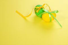 κορδέλλα αυγών Πάσχας στοκ εικόνα με δικαίωμα ελεύθερης χρήσης