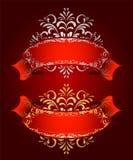 κορδέλλα δύο Στοκ Εικόνα