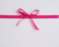 κορδέλλα δώρων κιβωτίων Στοκ Φωτογραφία