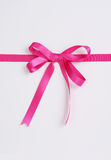 κορδέλλα δώρων κιβωτίων Στοκ εικόνες με δικαίωμα ελεύθερης χρήσης