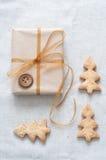 κορδέλλα δώρων Χριστου&gamma Στοκ Φωτογραφία