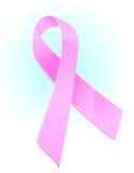 κορδέλλα καρκίνου του μαστού συνειδητοποίησης Στοκ εικόνες με δικαίωμα ελεύθερης χρήσης