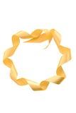 κορδέλλα μορφής κύκλων Στοκ φωτογραφία με δικαίωμα ελεύθερης χρήσης