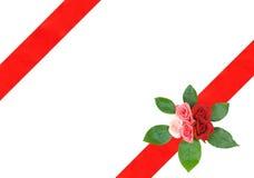 κορδέλλα πλαισίων Στοκ φωτογραφία με δικαίωμα ελεύθερης χρήσης