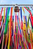 Κορδέλλα πολλών χρωμάτων Στοκ Εικόνες