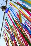 Κορδέλλα πολλών χρωμάτων Στοκ Φωτογραφίες
