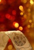 Κορδέλλα Χριστουγέννων Στοκ Εικόνα