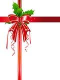 κορδέλλα Χριστουγέννων Στοκ Εικόνες