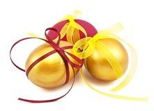 κορδέλλες αυγών Πάσχας Στοκ Εικόνες