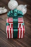 κορδέλλες δώρων κιβωτίω&nu Στοκ Φωτογραφίες