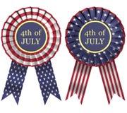 κορδέλλες ΗΠΑ σημαιών απεικόνιση αποθεμάτων