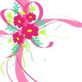 κορδέλλες λουλουδιώ& ελεύθερη απεικόνιση δικαιώματος