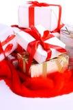 κορδέλλες μερών δώρων Στοκ φωτογραφίες με δικαίωμα ελεύθερης χρήσης
