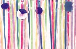 Κορδέλλες ουράνιων τόξων Στοκ φωτογραφίες με δικαίωμα ελεύθερης χρήσης
