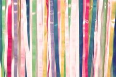 Κορδέλλες ουράνιων τόξων Στοκ φωτογραφία με δικαίωμα ελεύθερης χρήσης